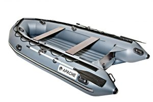 Лодка ПВХ Апачи 3500 НДНД надувное дно низкого давления